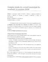 CR du CM du 16-10-20